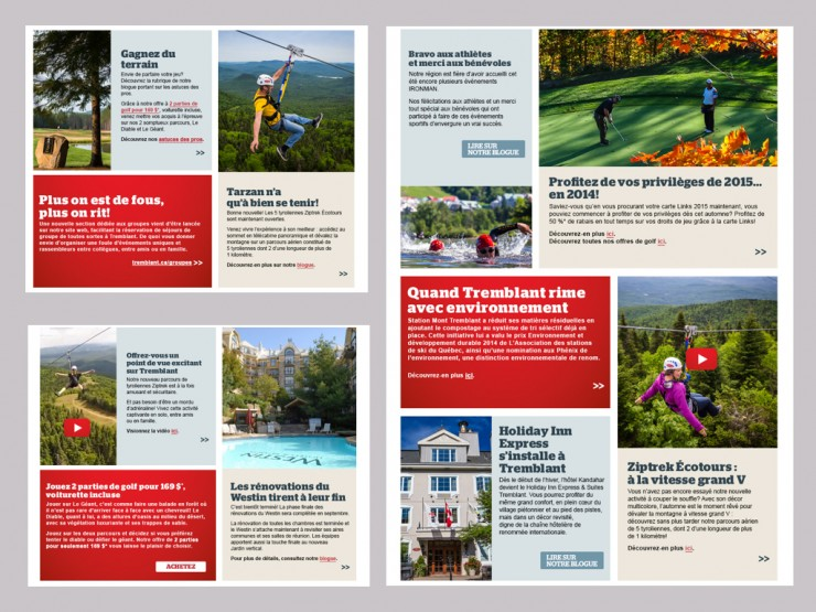Infolettres Tremblant